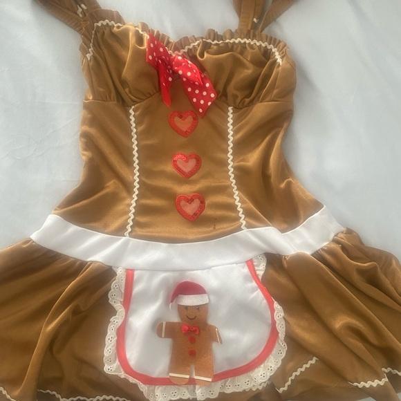 Halloween costume sexy Gingerbread Girl !!